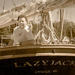 Schooner Lazy Jack's Captain Sean