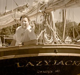 Captain of the Schooner Lazy Jack